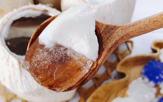 Thạch dừa tự làm ở nhà, ngon và sạch hơn ngoài hàng - Ảnh 3
