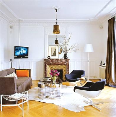 7 cách đơn giản mang phong cách Paris vào không gian sống - Ảnh 1