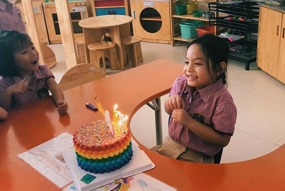 Phạm Quỳnh Anh - Quang Huy 'tái hợp' tổ chức sinh nhật cho con gái - Ảnh 3