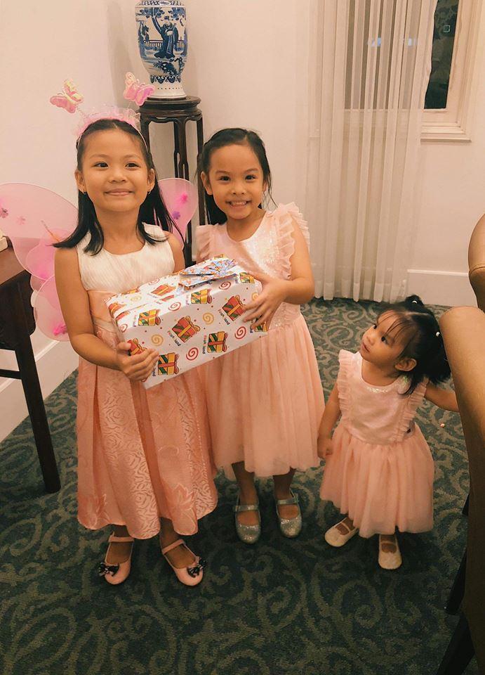 Phạm Quỳnh Anh - Quang Huy 'tái hợp' tổ chức sinh nhật cho con gái - Ảnh 7