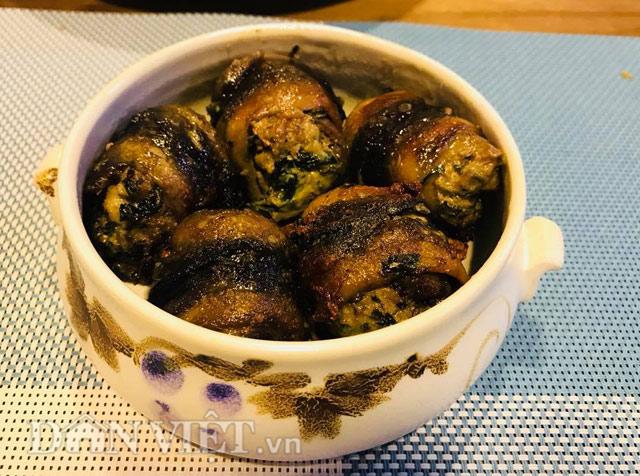 Tối nay ăn gì: Cách làm món lươn cuốn thịt rán thơm phức, bé ăn vừa ngon vừa bổ - Ảnh 4