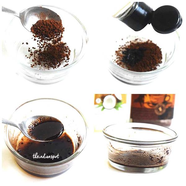 Trị quầng thâm dưới mắt đơn giản bằng bã cà phê - Ảnh 2