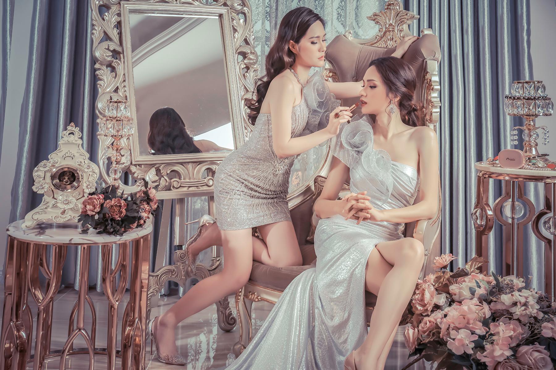 Hoa hậu Hương Giang đẹp xuất thần trong thiết kế ren mỏng tang - Ảnh 5
