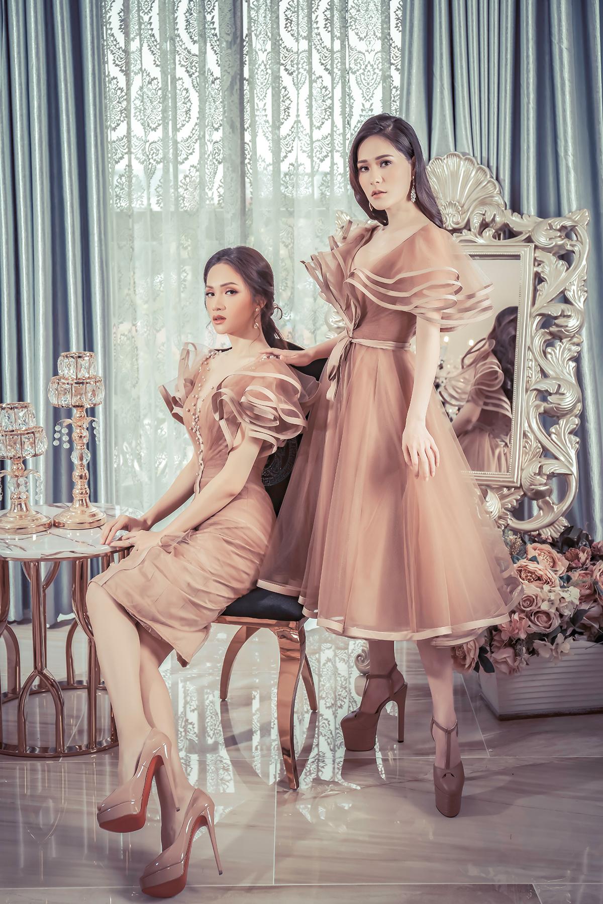 Hoa hậu Hương Giang đẹp xuất thần trong thiết kế ren mỏng tang - Ảnh 8