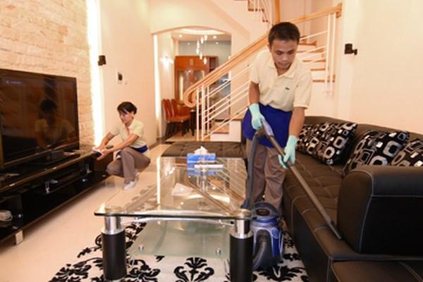 Kiếm thêm tiền với công việc dọn nhà ngày Tết