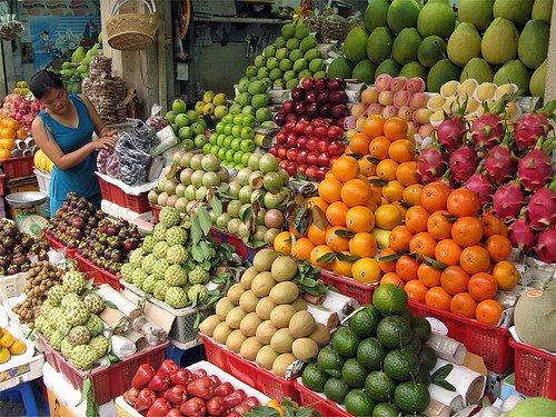 Thêm thu nhập ăn Tết khi bán hàng trái cây