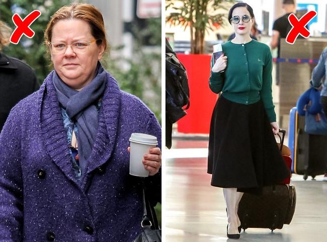 Mặc áo cardigan tối màu: Những chiếc áo len và áo cardigan màu tối chỉ khiến bạn trông già hơn. Do vậy, tốt nhất bạn nên chọn những chiếc khoác hoặc một chiếc blazer để trông trẻ trung hơn.