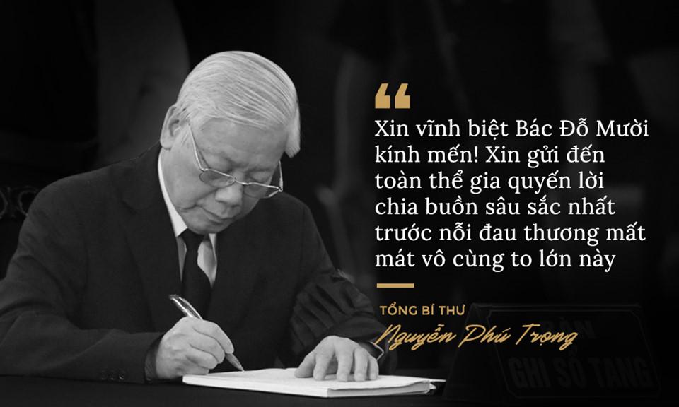Lời từ biệt của lãnh đạo Đảng, Nhà nước với cố Tổng bí thư Đỗ Mười - Ảnh 1