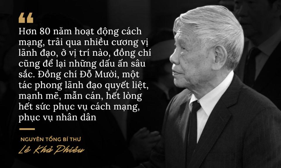 Lời từ biệt của lãnh đạo Đảng, Nhà nước với cố Tổng bí thư Đỗ Mười - Ảnh 4