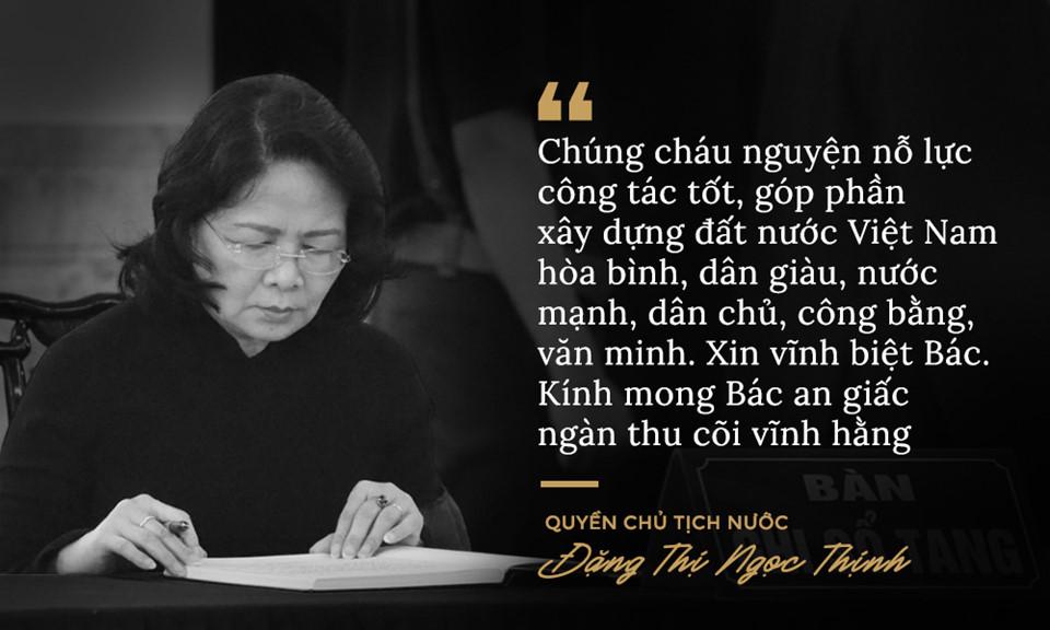 Lời từ biệt của lãnh đạo Đảng, Nhà nước với cố Tổng bí thư Đỗ Mười - Ảnh 5