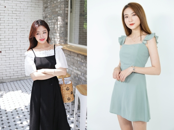 Váy hai dây không chỉ mát mẻ mà còn giúp vẻ ngoài của bạn trở nên phóng khoáng, quyến rũ và cực hút mắt