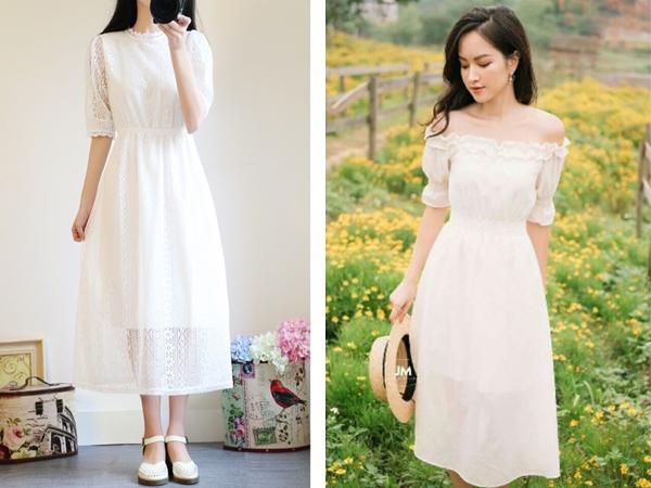 Váy trắng là