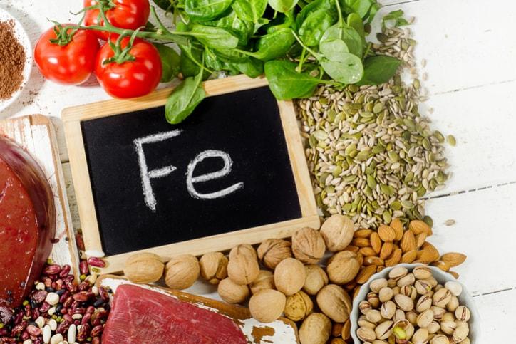 Ngăn ngừa chóng mặt khi dùng nhiều thực phẩm chứa sắt