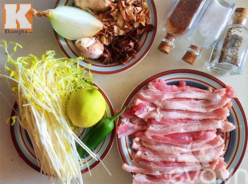 Thịt ba chỉ nướng ngũ vị thơm lừng cả bếp - Ảnh 1