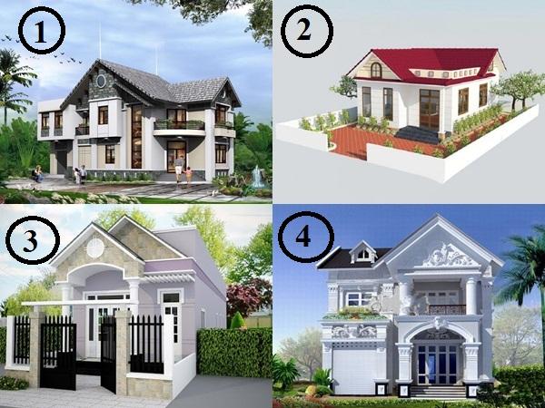 Hãy chọ 1 ngôi nhà để biết được tính cách bên trong của bạn