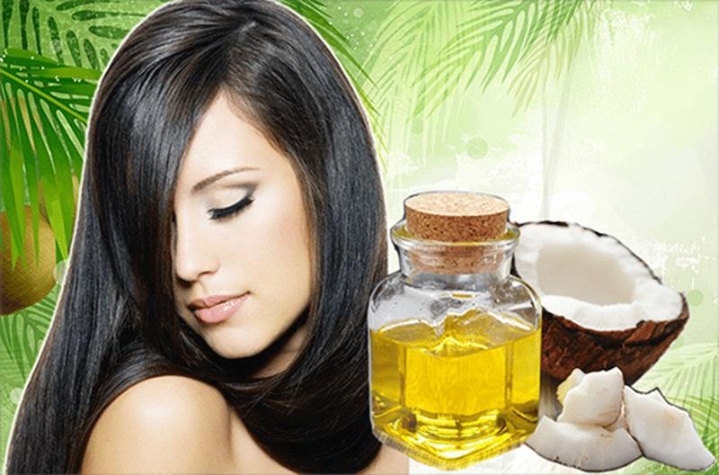 Các loại dầu thực vật như dầu dừa, dầu oliu mang đến cho bạn mái tóc dài nhanh chóng