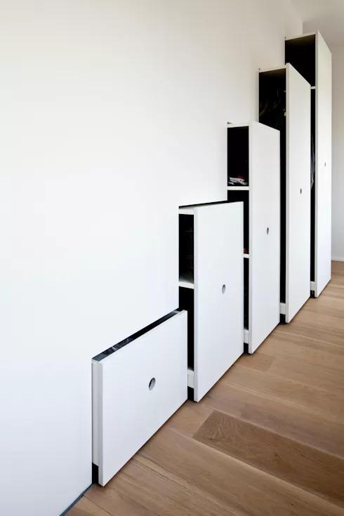 Các kiểu tủ 'tàng hình' cho nội thất phòng ngủ nhỏ