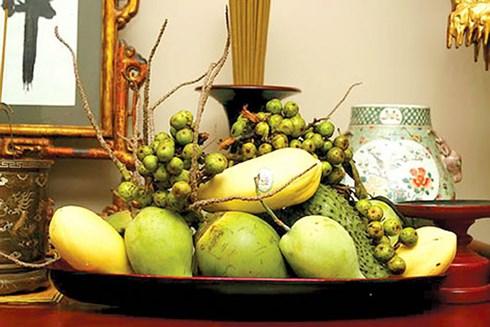 Ở Nam bộ, mọi người thường dùng tên gọi của các loại trái cây để thể hiện mong ước của mình như mãng cầu, chùm sung, dừa xiêm, đu đủ, xoài