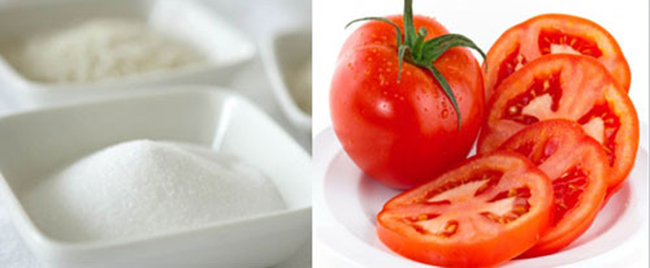Thường xuyên áp dụng cà chua và đường để tẩy tế bào chết sẽ giúp làn da của chị em trở nên thông thoáng, sáng mịn đến không ngờ