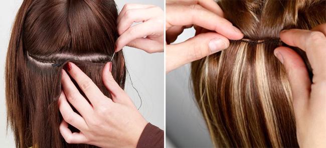 Nối tóc bằng sợi Fiberglass là phương pháp nối tóc được nhiều chị em yêu thích nhất