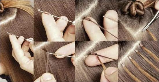 Nối tóc ống nhiệt là cách nối giống tóc thật nhưng khi tháo tóc thường khá vất vả