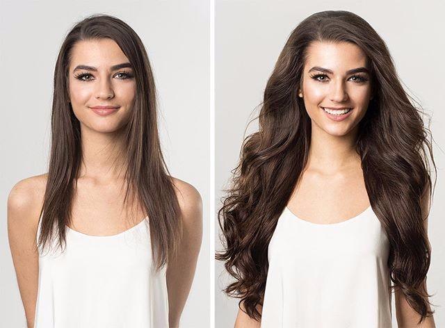 Chăm sóc cẩn thận phần tóc nối giúp mái tóc bồng bềnh và suôn mượt tự nhiên
