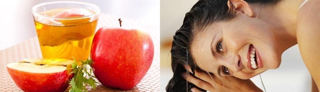 Trị tóc bết dầu nhanh chóng với giấm táo
