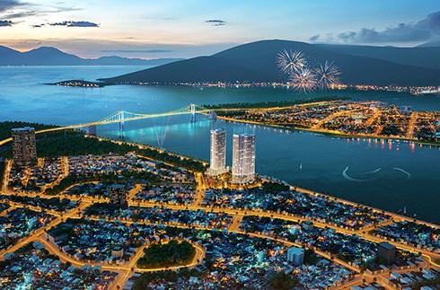 Tổ hợp dự án tháp đôi Movenpick Hotels & Residences - Risemount Apartment Đà Nẵng bên sông Hàn do Tập đoàn Vicolaand làm chủ đầu tư