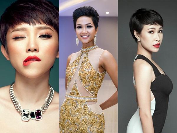 Điểm danh 5 kiểu tóc được các mỹ nhân showbiz Việt 'mê mẩn' - Ảnh 9