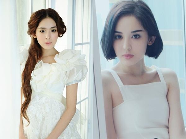 Việc thay đổi kiểu tóc ngắn giúp người đẹp Tân Cương nhận được rất nhiều lời khen từ cộng đồng mạng