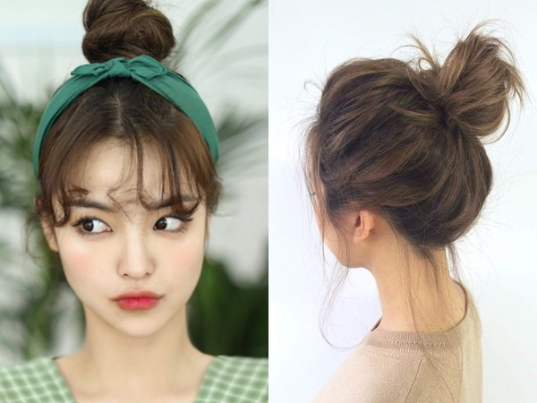 Tóc búi luôn là một lựa chọn tuyệt vời để phái đẹp khoe khéo gương mặt, làm nổi bật nét trẻ trung và tôn lên phần xương hàm nhỏ nhắn, thon gọn