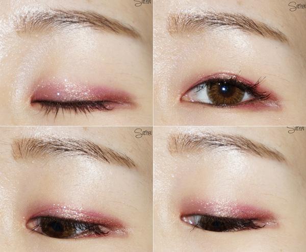 Để sở hữu đôi mắt cuốn hút thì chị em cần lựa chọn phấn mắt màu nâu nhạt hoặc pastel
