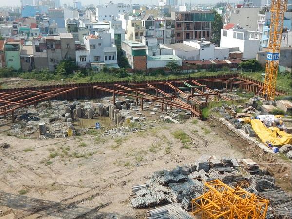 Dự án Sunshine Avenue hiện tại chỉ là bãi đất nham nhỡ