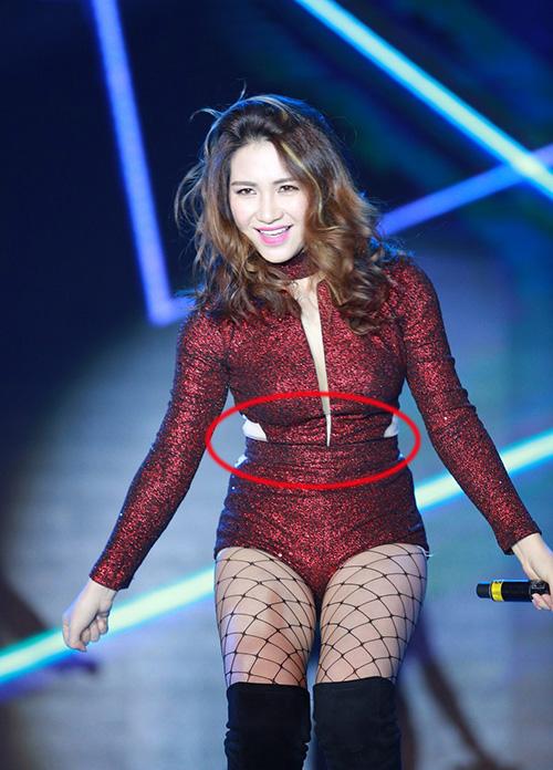 """Hậu chia tay Công Phượng, Hòa Minzy liên tục """"mất điểm"""" trong mắt fans vì thân hình mũm mĩm, thừa cân"""