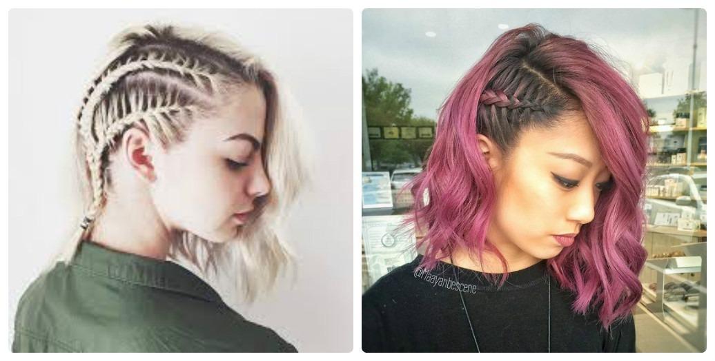 Tết tóc một bên mang lại cho bạn sự cá tính, khác biệt
