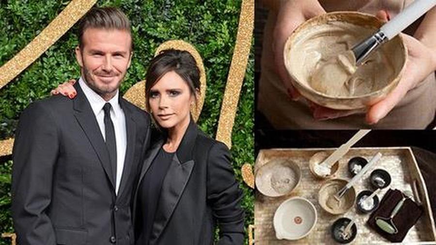 Sử dụng phân chim là một trong những bí quyết làm đẹp của cặp vợ chồng Victoria và David Beckham