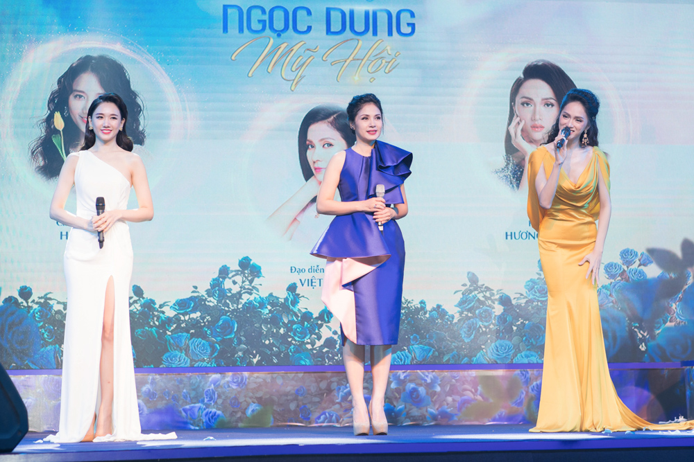 Việt Trinh - Hari Won - Hương Giang, 3 đại sứ của Ngọc Dung