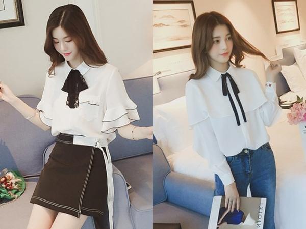 Top 5 kiểu áo sơ mi cực đẹp và thanh lịch dành riêng cho chị em phụ nữ trong năm 2019 - Ảnh 3