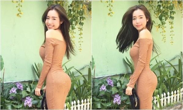 Giờ đây, đã là bà mẹ hai con nhưng vẻ đẹp nóng bỏng của Elly Trần vẫn chưa hề giảm sút