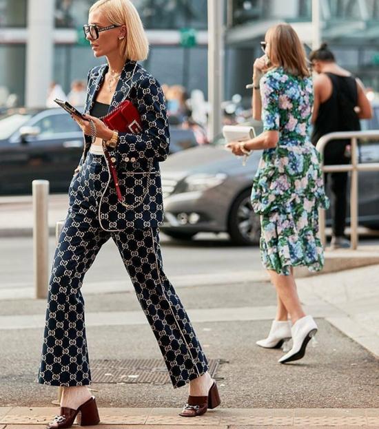 Gucci, Fendi và nhiều thương hiệu lớn nhanh chóng tung ra thị trường các mẫu suit thời thượng phục vụ phái đẹp lên đồ ở tuần lễ thời trang.