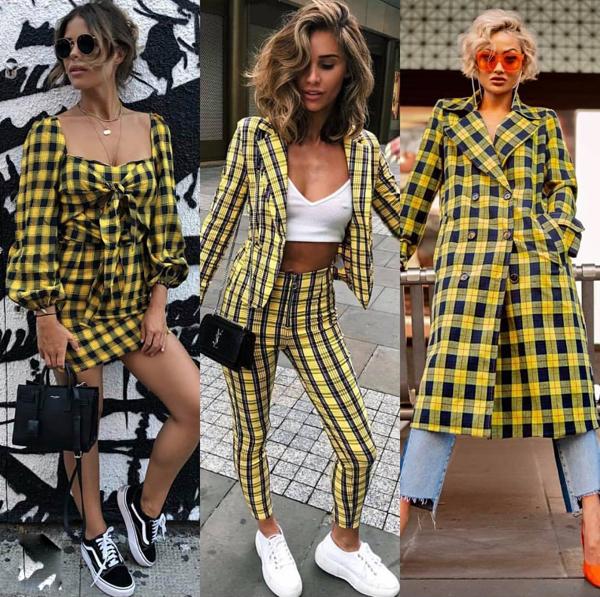 Không chỉ bó hẹp trong phạm vi của suit và vest, vải in họa tiết hợp mùa biến hóa ấn tượng trên nhiều kiểu dáng trang phục như váy vạt quấn, chân váy thắt eo, đầm liền thân...