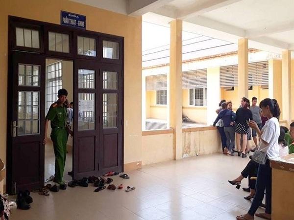 Công an vào cuộc điều tra vụ thai nhi tử vong ở Bệnh viện Triệu Hải - Ảnh 1