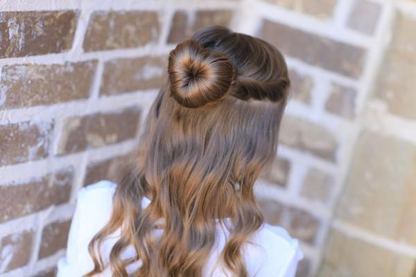 Kiểu tóc búi đẹp ngày Valentine