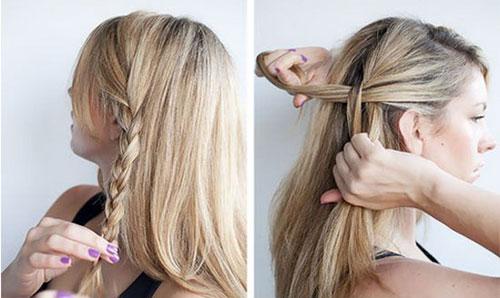 Học cách tết tóc vòng cung đẹp ngày Valentine