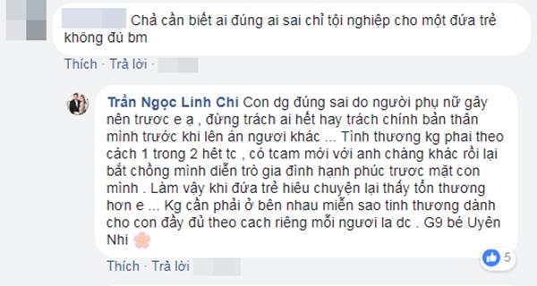 Linh Chi 'tố' vợ cũ Lâm Vinh Hải lén lút ngoại tình, không chăm sóc con gái - Ảnh 6