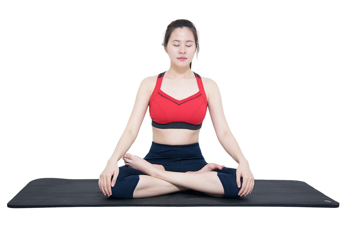Hít thở sâu và đều đặn hỗ trợ giảm mỡ bụng hiệu quả