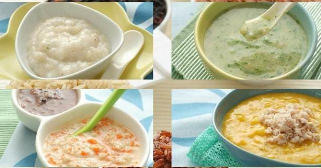 Thực đơn ăn dặm với cháo, súp và sữa đảm bảo dinh dưỡng cho trẻ 6 tháng tuổi