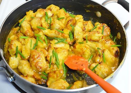 Thịt gà sốt cam - Ảnh 4