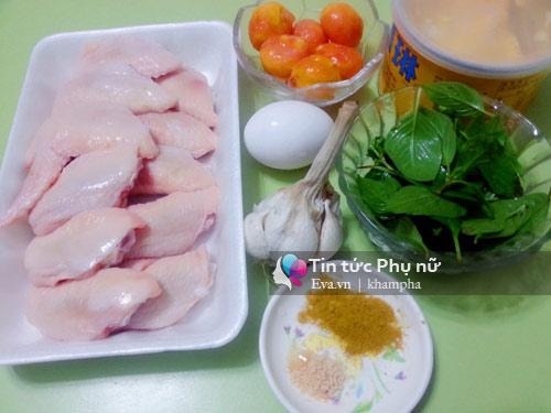 Đổi vị với cánh gà chiên sốt trứng muối - Ảnh 1