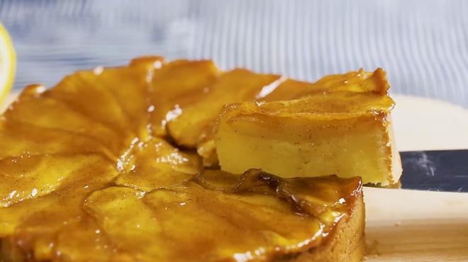 Làm bánh táo phô mai siêu ngon từ nồi cơm điện - Ảnh 3